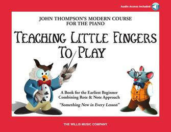 Product Cover for Teaching Little Fingers to Play – Book/Audio