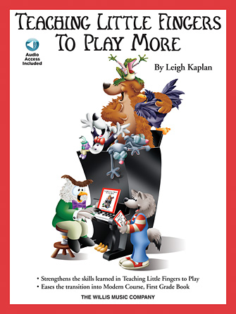 Product Cover for Teaching Little Fingers to Play More – Book/Audio