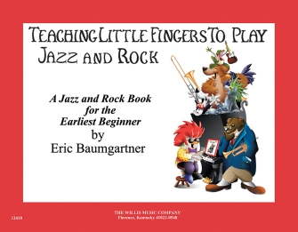 Product Cover for Teaching Little Fingers to Play Jazz and Rock – Book/CD