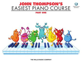 John Thompson's Easiest Piano Course – Part 1 – Book/Audio