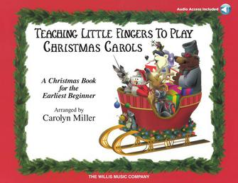 Product Cover for Teaching Little Fingers to Play Christmas Carols – Book/CD