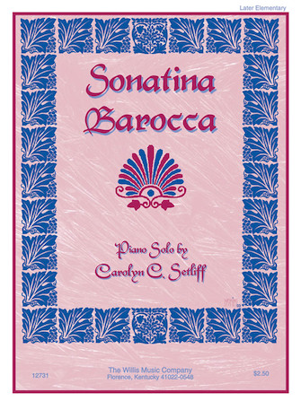 Product Cover for Sonatina Barocca
