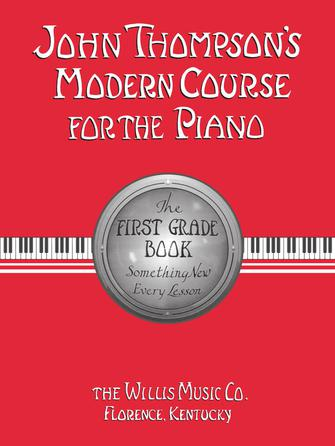 Product Cover for John Thompson's Modern Course for the Piano – First Grade (Book Only)