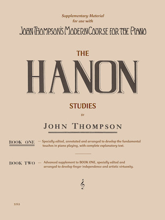 Product Cover for Hanon Studies – Book 1