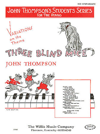 Product Cover for Variations on Three Blind Mice