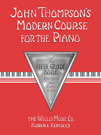 Product Cover for John Thompson's Modern Course for the Piano – Fifth Grade (Book Only)