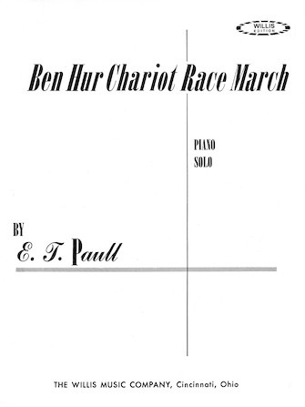 Product Cover for Ben Hur Chariot Race March