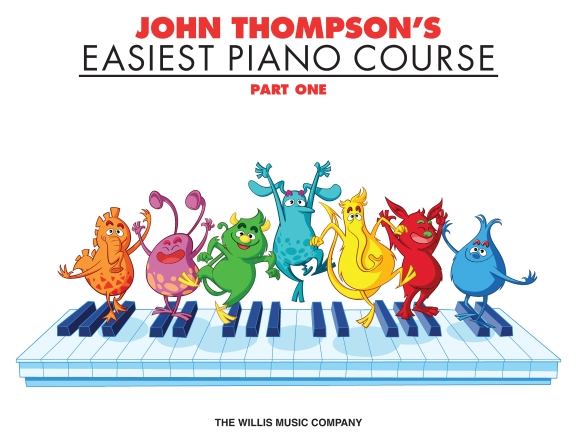Product Cover for John Thompson's Easiest Piano Course – Part 1 – Book Only
