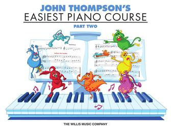 Product Cover for John Thompson's Easiest Piano Course – Part 2 – Book Only