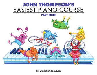 John Thompson's Easiest Piano Course – Part 4 – Book Only