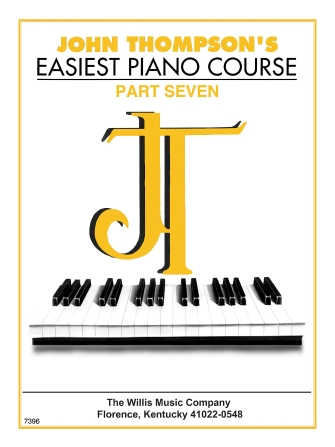 Product Cover for John Thompson's Easiest Piano Course – Part 7 – Book Only