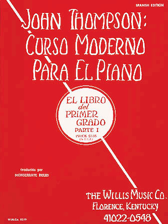 Product Cover for John Thompson's Modern Course for the Piano (Curso Moderno) – First Grade, Part 1 (Spanish)