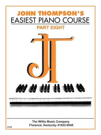 Product Cover for John Thompson's Easiest Piano Course – Part 8 – Book Only
