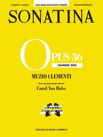 Product Cover for Sonatina Op. 36, No. 1
