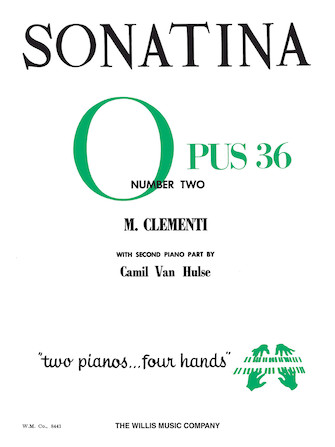 Product Cover for Sonatina Op. 36, No. 2