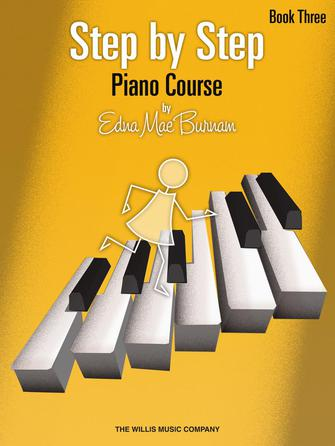 Product Cover for Step by Step Piano Course – Book 3