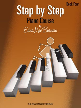Product Cover for Step by Step Piano Course – Book 4