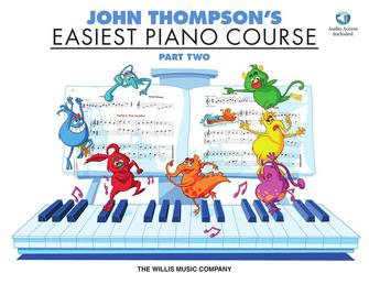 Product Cover for John Thompson's Easiest Piano Course – Part 2 – Book/Audio