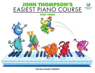 Product Cover for John Thompson's Easiest Piano Course – Part 3 – Book/Audio