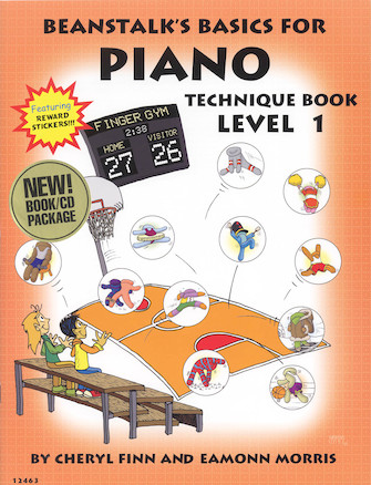 Product Cover for Beanstalk's Basics for Piano – Technique Books