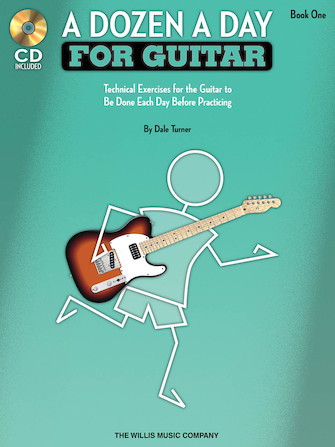 Product Cover for A Dozen a Day for Guitar – Book 1