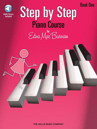 Product Cover for Step by Step Piano Course – Book 1 with CD