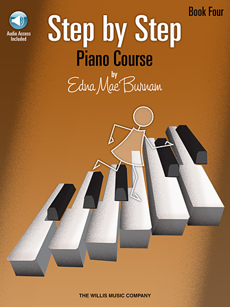Product Cover for Step by Step Piano Course – Book 4 with Online Audio