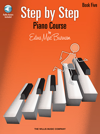 Product Cover for Step by Step Piano Course – Book 5 (Bk/Audio)