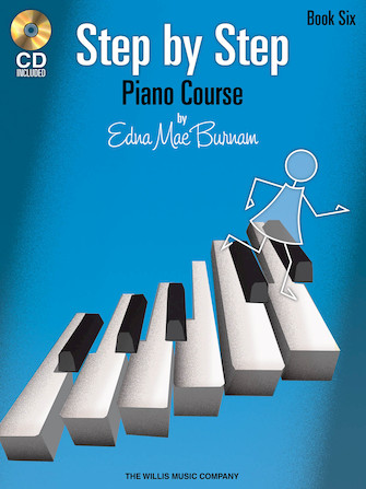 Product Cover for Step by Step Piano Course – Book 6 with CD