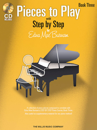 Product Cover for Pieces to Play – Book 3 with CD