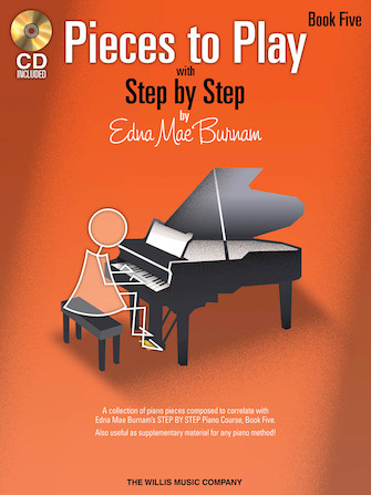 Product Cover for Pieces to Play – Book 5 with CD
