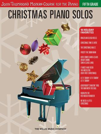 Product Cover for Christmas Piano Solos – Fifth Grade (Book Only)
