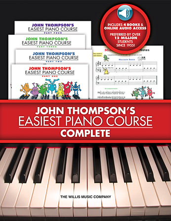John Thompson's Easiest Piano Course – Complete