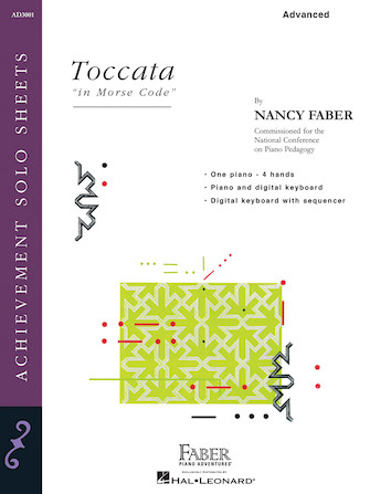 """Product Cover for Toccata """"in Morse Code"""""""