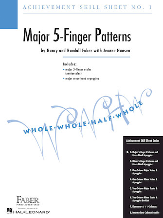 Product Cover for Achievement Skill Sheet No. 1: Major 5-Finger Patterns