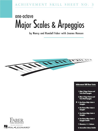 Product Cover for Achievement Skill Sheet No. 3: One-Octave Major Scales & Arpeggios
