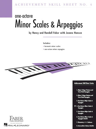 Product Cover for Achievement Skill Sheet No. 4: One-Octave Minor Scales & Arpeggios