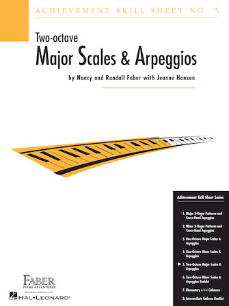Product Cover for Achievement Skill Sheet No. 5: Two-Octave Major Scales & Arpeggios
