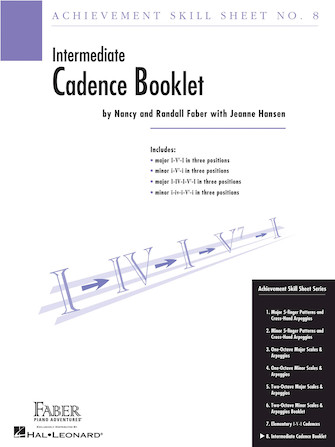 Product Cover for Achievement Skill Sheet No. 8: Cadence Booklet