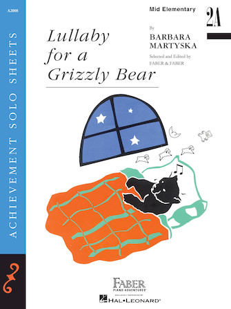 Product Cover for Lullaby for a Grizzly Bear