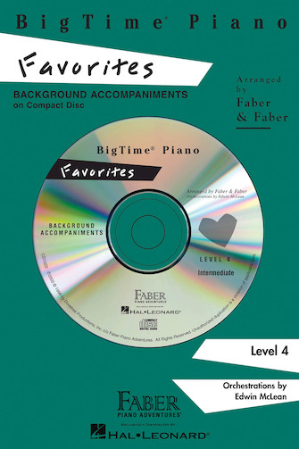 Product Cover for BigTime® Piano Favorites