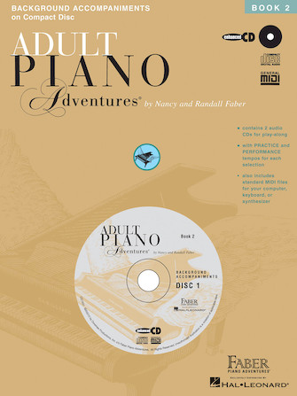 Product Cover for Adult Piano Adventures All-in-One Lesson Book 2