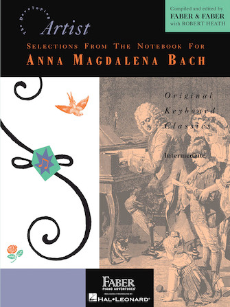 Product Cover for Selections from the Notebook for Anna Magdalena Bach