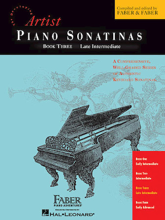 Product Cover for Piano Sonatinas – Book Three
