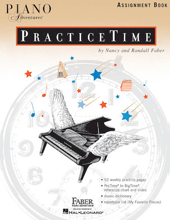 Product Cover for Piano Adventures PracticeTime Assignment Book