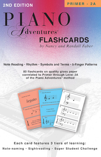 Product Cover for Piano Adventures Flashcards In-a-Box