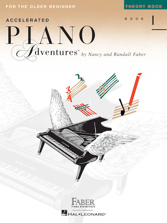 Accelerated Piano Adventures for the Older Beginner – Theory Book 1, International Edition