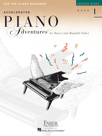 Product Cover for Accelerated Piano Adventures for the Older Beginner – Lesson Book 1, International Edition