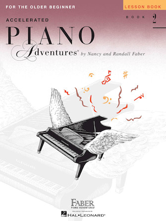 Product Cover for Accelerated Piano Adventures for the Older Beginner – Lesson Book 2, International Edition