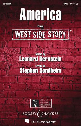 America : SATB : William Stickles : Leonard Bernstein : West Side Story : Sheet Music : 00450000 : 073999975604